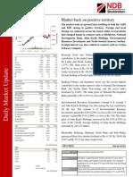 Daily Market Update 06.12.2012