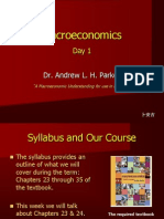 Principles of Macroeconomics-Day 1 F11