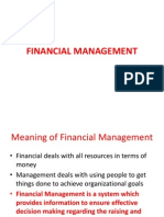FINANCIAL MANAGEMENT - unit one.ppt