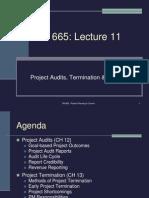 TM 665 Lecture 11