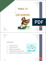 Tema 12. Los Huevos