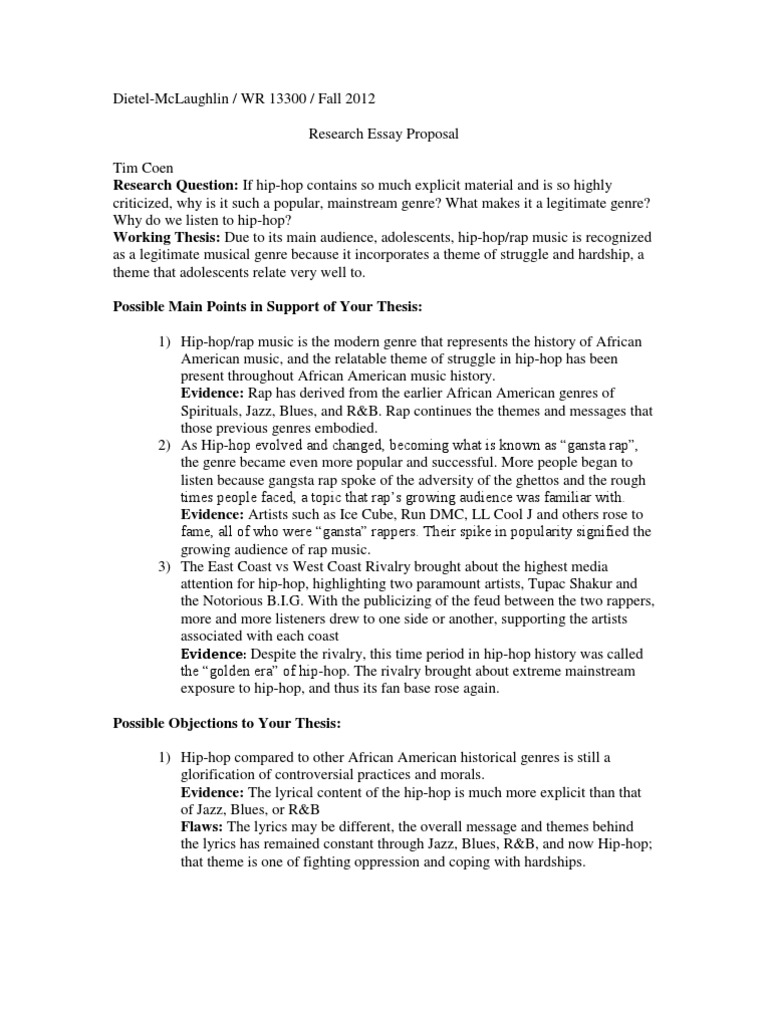 hip hop history essay example You can write unique research paper about hip hop music learn the basics of music essay writing, get more information on the history of hip hop music.