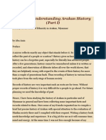 Towards Understanding Arakan History(Abu Anan)