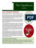 Fall Newsletter 2012