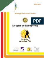 Rotary Dossier Sponsoring 2