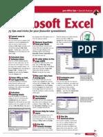Excel Short Cuts