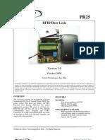 Rfid Door Lock System
