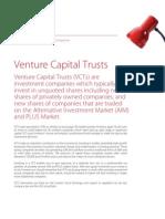 Association of Invt Companies Venture Capital Trust Factsheet