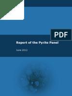 Report of Pyrite Panel - June 2012