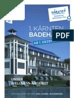 1. Kärnten Badehaus Millstätter See_Angebote