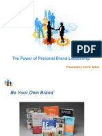 The Power of Personal Brand Leadership