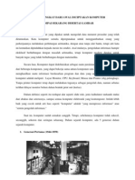 Sejarah Singkat Dari Awal Diciptakan Komputer Sampai Sekarang Disertai Gambar