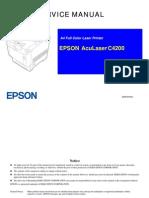 Epson Aculaser c4200 Service Manual
