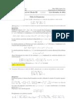 Examen Final Cálculo III, 3 de diciembre 2012