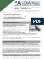 2012-12-05 IFALPA Daily News