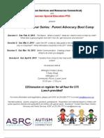 ASRC Parent Advocacy Boot Camp