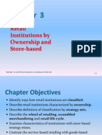 Chapter 3 - Retail Institutions by Ownership and Store-Based Strategy Mix