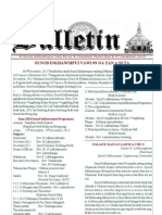 Synod 2012 Bulletin (Dec. 6)