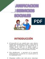 La Planificacion en Servicios Sociales