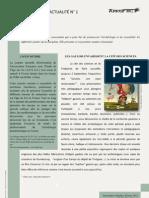 Arkéfact Bulletin Actualité 1