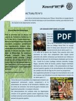 Arkéfact Bulletin Actualité 3