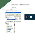 KBA-1010- Creacion de Cuentas Active Directory
