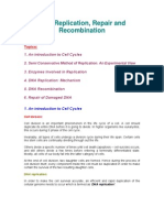 Examville.com Quick Review Guide - DNA Replication, Recombination & Repair