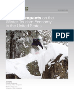 Climate Impacts on the Winter Tourism Economy in the United States
