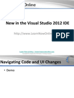 New in the Visual Studio 2012 IDE