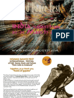 Nomad dance fest India 2013-Brochure