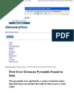 etruscan pyramids