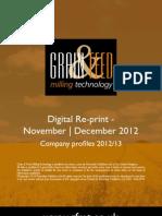 Company profiles 2012/13