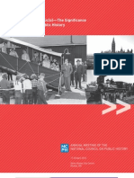 Knowing your Public(s)—The Significance of Audiences in Public History [Annual Meeting Program]