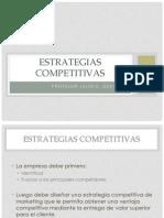Clase - Estrategias Competitivas