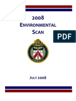 2008 TPS Environmental Scan