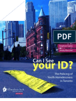 2011 Street Youth Legal Services Can I See Your ID?