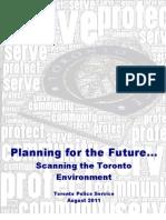 2011 TPS Environmental Scan