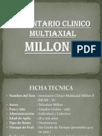 Tema N_ 06 - Inventario Clinico Multiaxial Millon II