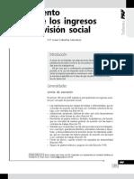 Tratamiento fiscal de los ingresos por previsión social