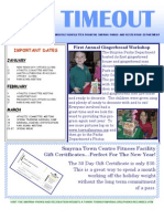 Newsletter January 2009