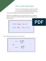 Polyprotioc Acid and Bases