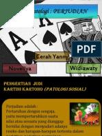 PERJUDIAN