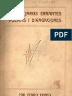 Prado, Pedro - Los pájarros errantes