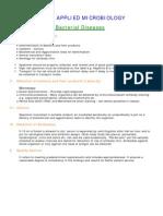 Diagnosis of Bacterial Diseases