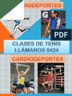 Cardiodeportes Clases de Tenis