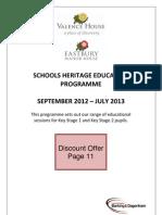Schools Heritage Education Programme