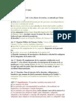 Ley de Unión Civil Nº 1004