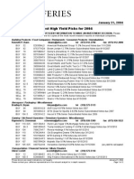 Jefferies-High Yield Best Picks 2004-Greg Imbruce