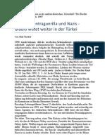 Goebel, Olaf - Drogen, Kontraguerilla und Nazis - Gladio wütet weiter in der Türkei (1997)