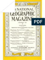National Geographic 1929-10